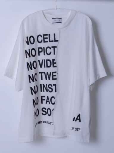 RIPPED OFF T-SHIRTS NEON PRINT/WHITE/BLACK pt