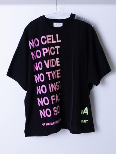RIPPED OFF T-SHIRTS NEON PRINT/BLACK/NEON pt